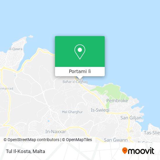 Mappa Tul Il-Kosta