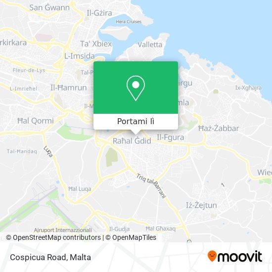Mappa Cospicua Road