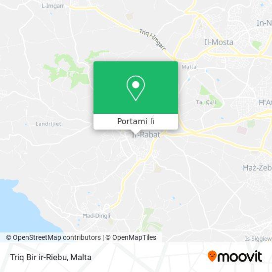 Mappa Triq Bir ir-Riebu