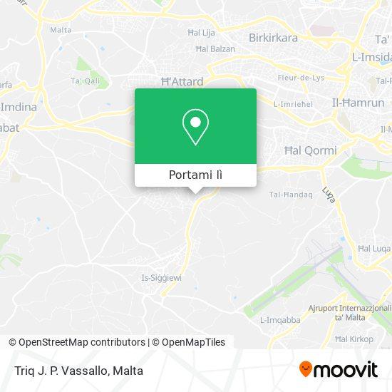Mappa Triq J. P. Vassallo