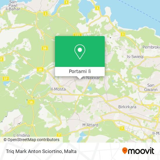 Mappa Triq Mark Anton Sciortino