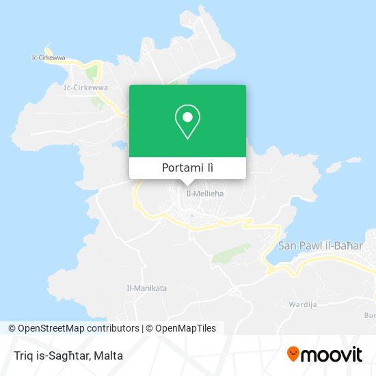 Mappa Triq is-Sagħtar