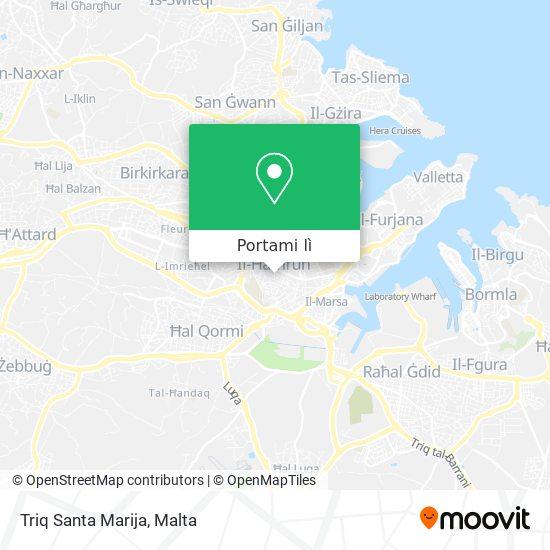 Mappa Triq Santa Marija