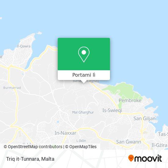 Mappa Triq it-Tunnara