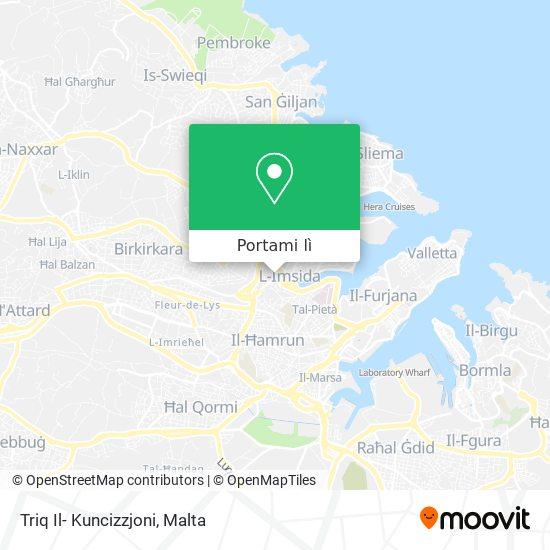 Mappa Triq Il- Kuncizzjoni