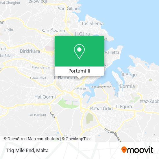 Mappa Triq Mile End