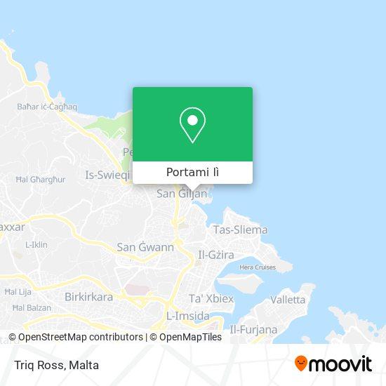 Mappa Triq Ross