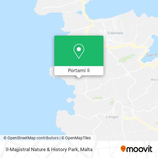 Mappa Il-Majjistral Nature & History Park