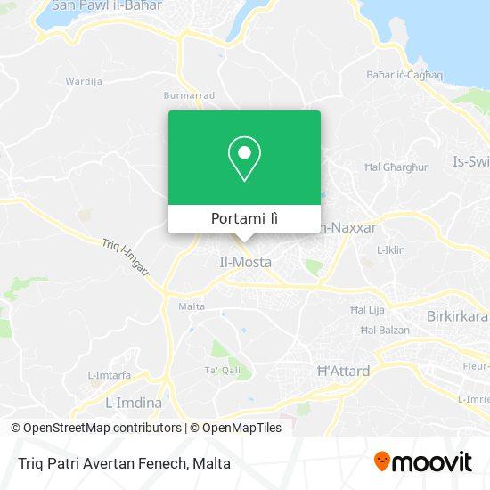 Mappa Triq Patri Avertan Fenech