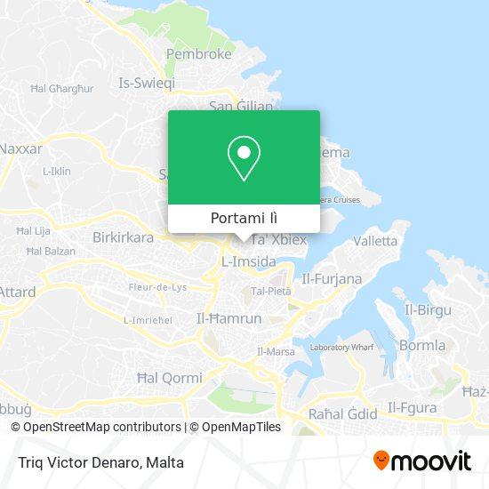 Mappa Triq Victor Denaro