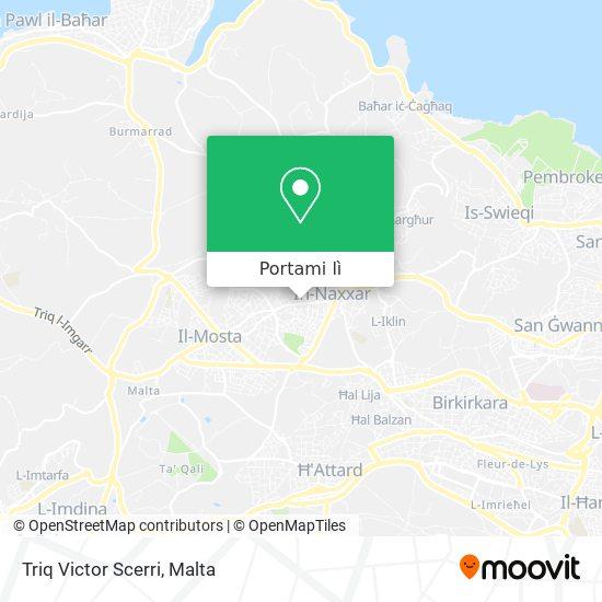 Mappa Triq Victor Scerri
