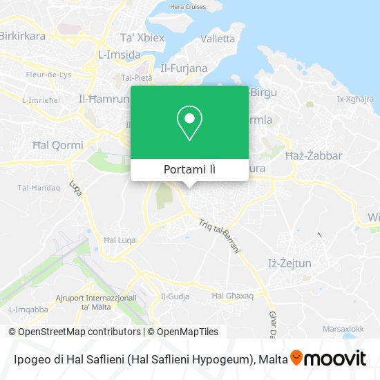 Mappa Ipogeo di Hal Saflieni (Hal Saflieni Hypogeum)
