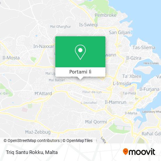 Mappa Triq Santu Rokku