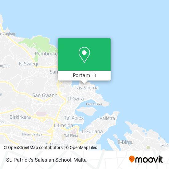 Mappa St. Patrick's Salesian School