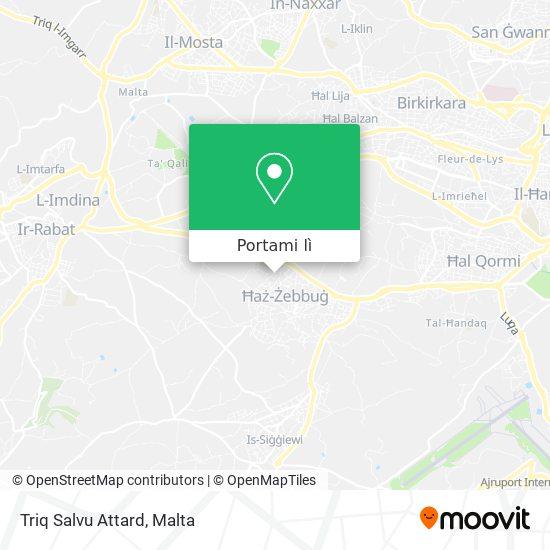 Mappa Triq Salvu Attard