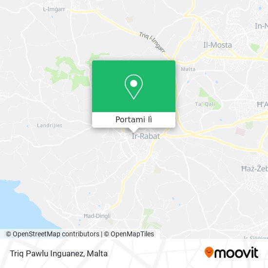 Mappa Triq Pawlu Inguanez