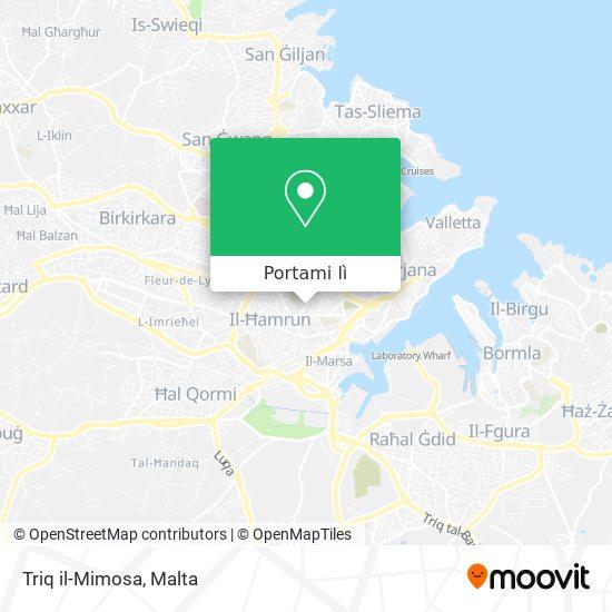 Mappa Triq il-Mimosa