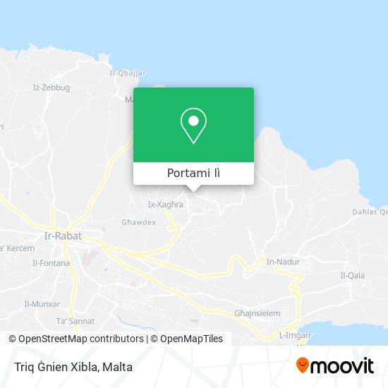Mappa Triq Ġnien Xibla