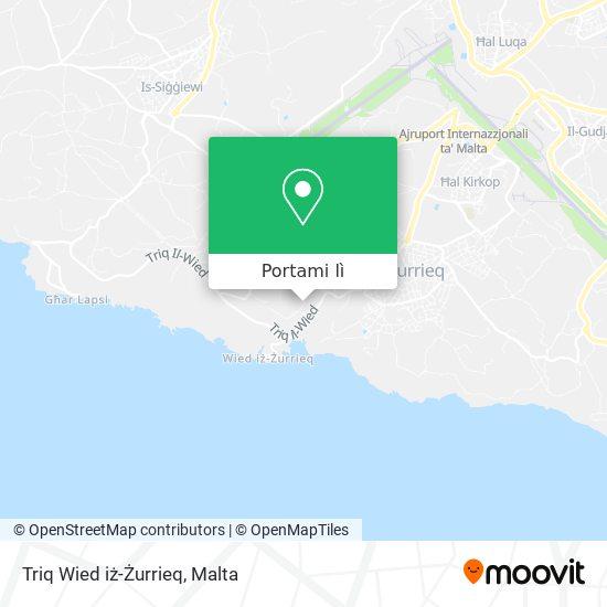 Mappa Triq Wied iż-Żurrieq