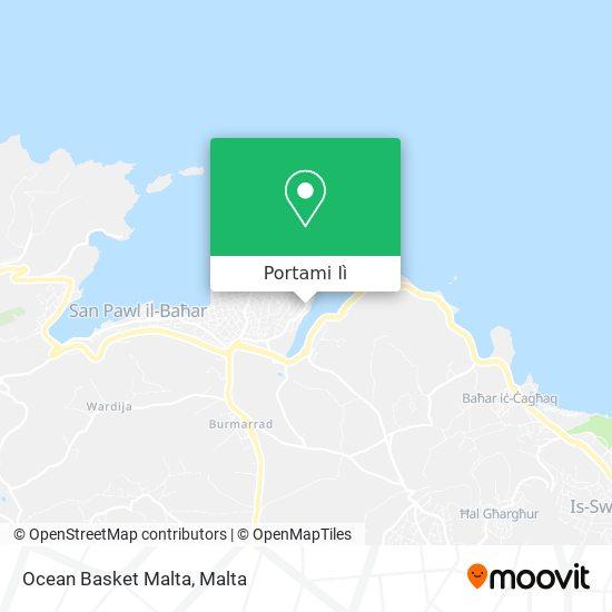Mappa Ocean Basket Malta