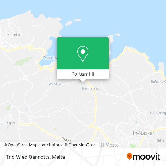 Mappa Triq Wied Qannotta