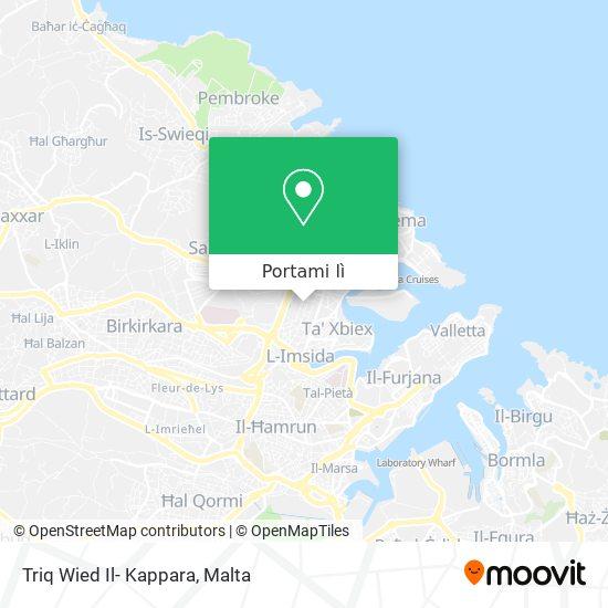 Mappa Triq Wied Il- Kappara