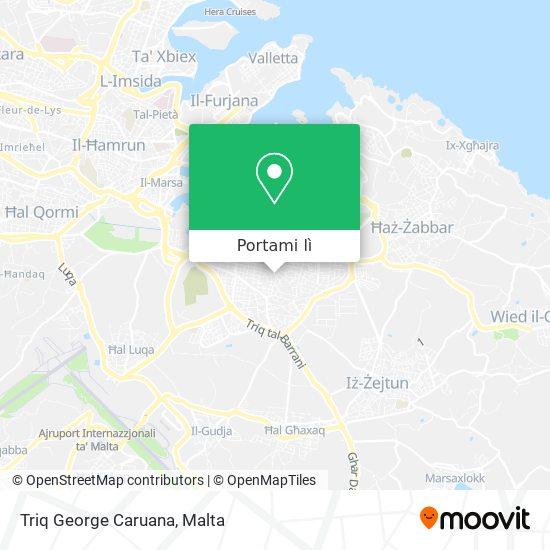 Mappa Triq George Caruana