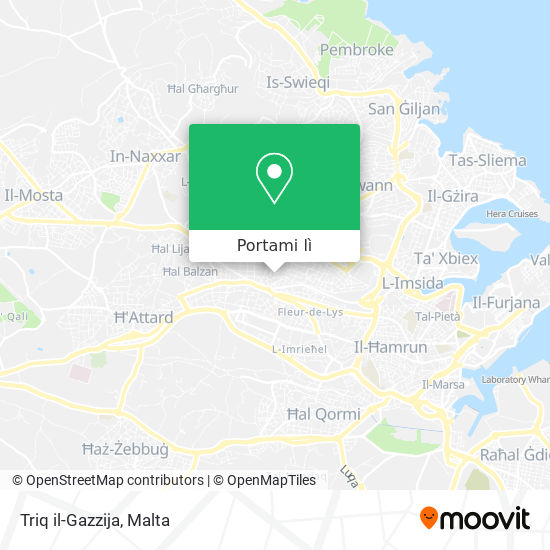 Mappa Triq il-Gazzija