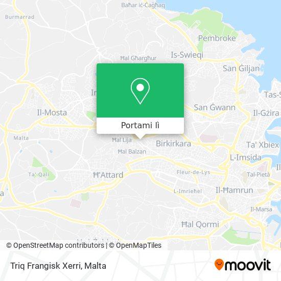Mappa Triq Frangisk Xerri