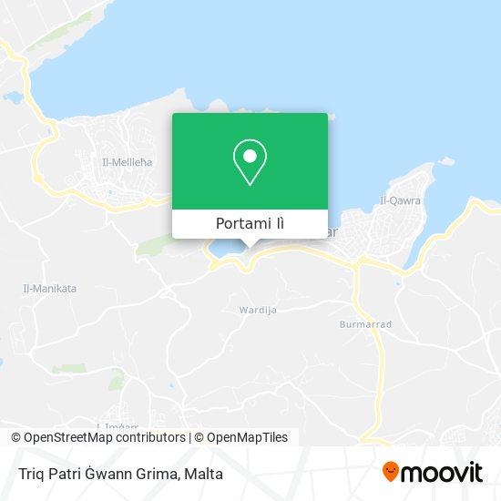 Mappa Triq Patri Ġwann Grima