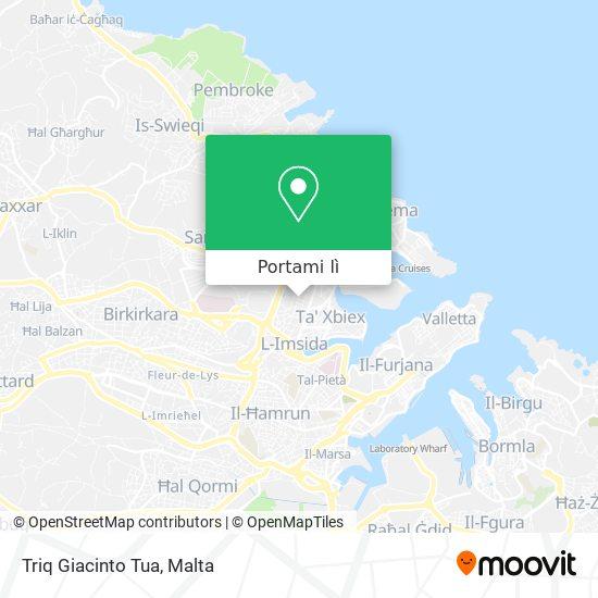 Mappa Triq Giacinto Tua