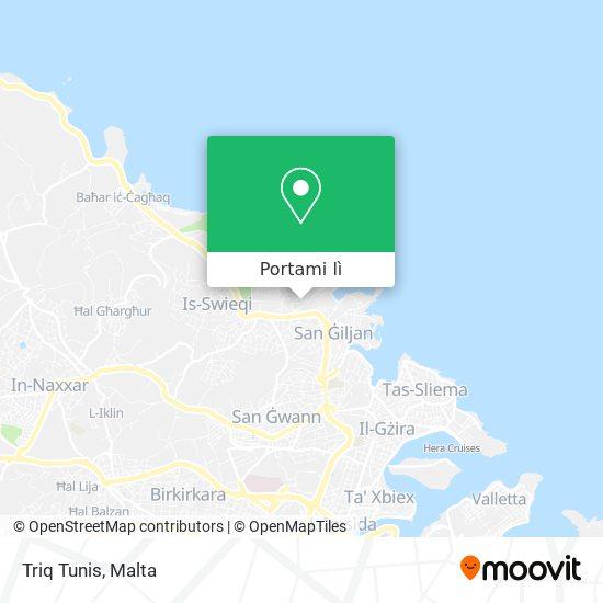 Mappa Triq Tunis