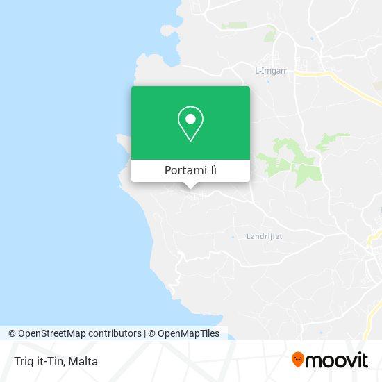 Mappa Triq it-Tin