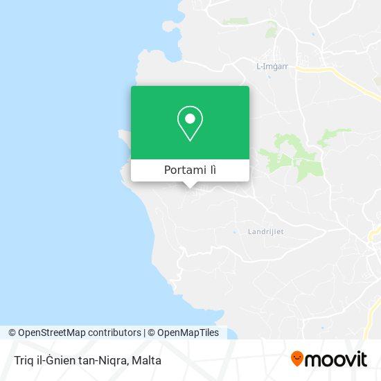 Mappa Triq il-Ġnien tan-Niqra