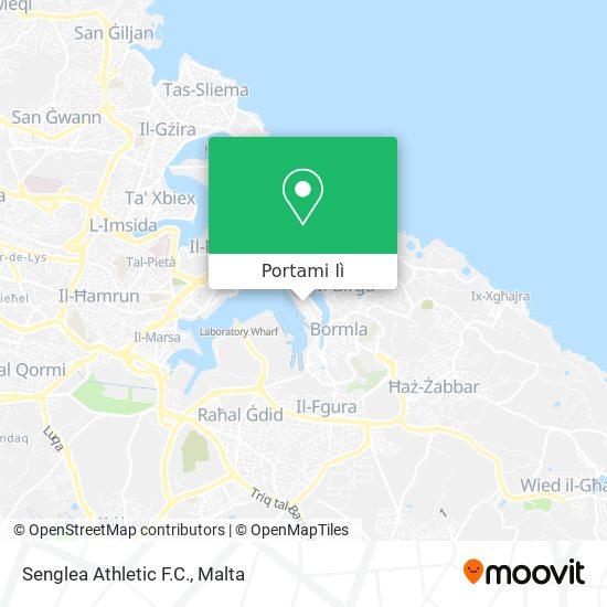 Mappa Senglea Athletic F.C.