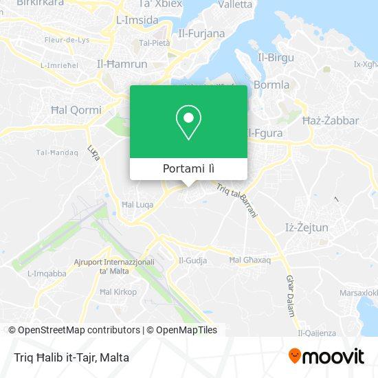 Mappa Triq Ħalib it-Tajr