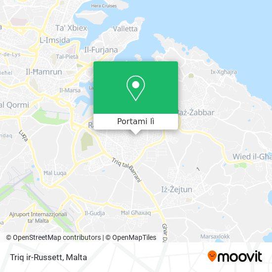 Mappa Triq ir-Russett