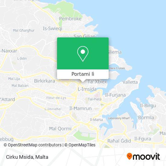 Mappa Cirku Msida