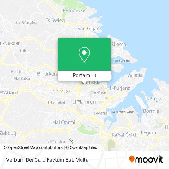 Mappa Verbum Dei Caro Factum Est