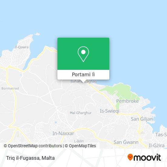 Mappa Triq il-Fugassa