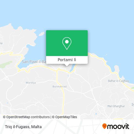 Mappa Triq il-Fugass
