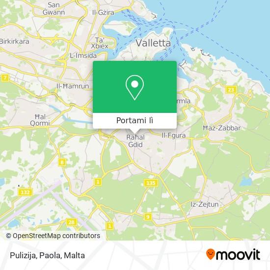 Mappa Pulizija, Paola