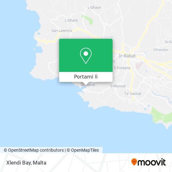 Mappa Xlendi Bay
