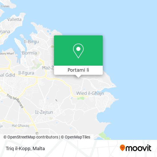 Mappa Triq il-Kopp