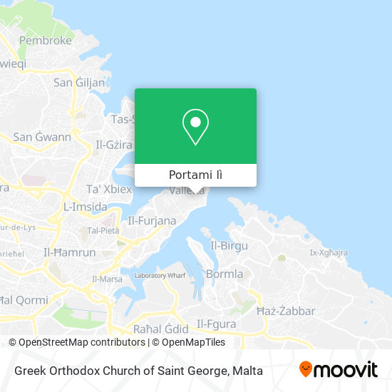 Mappa Greek Orthodox Church of Saint George