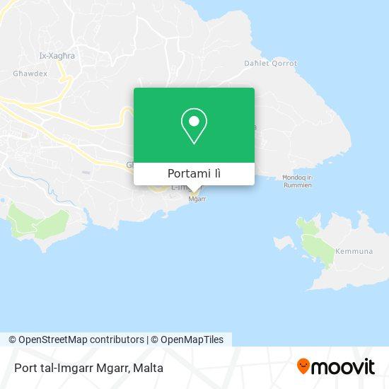 Mappa Port tal-Imgarr Mgarr