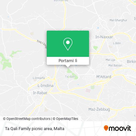 Mappa Ta Qali Family picnic area
