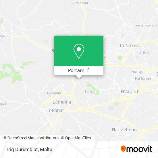 Mappa Triq Durumblat