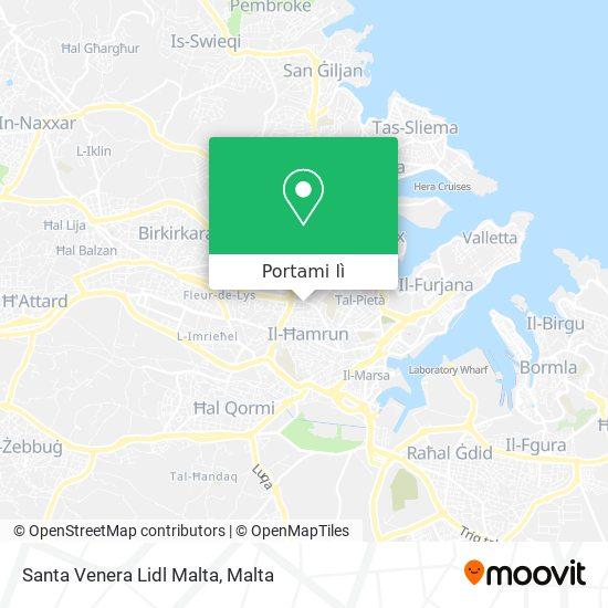 Mappa Santa Venera Lidl Malta