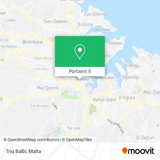 Mappa Triq Balbi